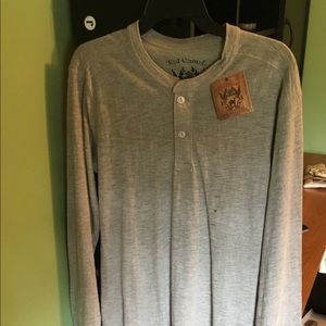 NWT Red Camel Long Sleeve Tee